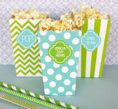 popcorn favors personalized popcorn boxes
