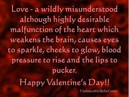 Valentines Day Quotes by Funny Quotes For Valentine U0027s Day Yourbirthdayquotes Com
