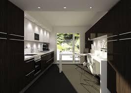cuisine blanche et noir stunning cuisine noir et blanc pictures design trends 2017