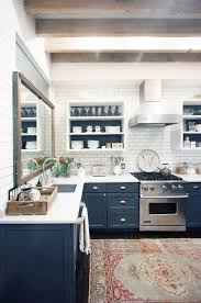 navy blue kitchen cabinets 10 fresh and pretty kitchen cabinet color ideas decoholic