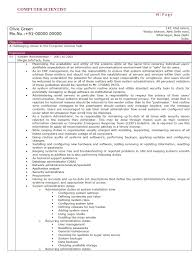 Sample Resume Objectives Computer Science by Data Scientist Resume Objective Resume For Your Job Application