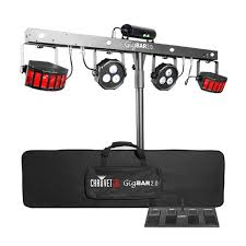 chauvet gigbar 2 irc 4 in 1 dj lighting system led derby par can