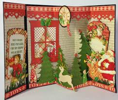 create photo christmas cards to make pop up card project