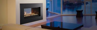 mezzanine see through gas fireplace heat u0026 glo