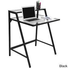 metal computer desks workstations 2 tier modern computer desk workstation this is great for those