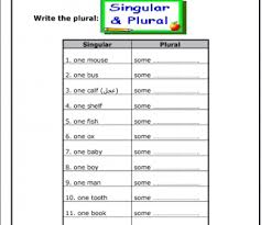 singular plural nouns busyteacher free printable worksheets for