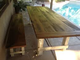 Plans For Patio Table by Farmhouse Patio Table Modern Table Design