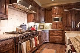 Alderwood Kitchen Cabinets by Alder Wood Cabinets Kitchen Rustic With Breakfast Bar Ceiling