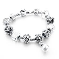 charm bracelet charm bracelet blue bargains