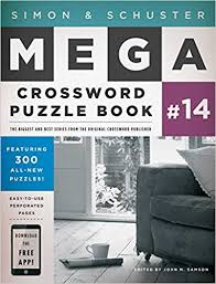 Woodworkers Power Tool Crossword Clue by Simon U0026 Schuster Mega Crossword Puzzle Book 14 John M Samson