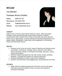 Writers Resume Template Sample Resume For Freelance Writer U2013 Topshoppingnetwork Com
