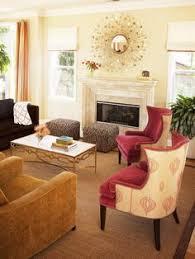 Hgtv Designer Portfolio Living Rooms - small living room with orange curtains designers u0027 portfolio