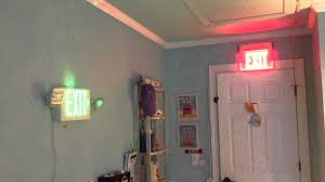 exit emergency light combo exit sign and emergency light updates youtube