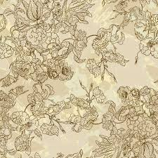 classic wallpaper seamless vintage flower free ee vector classic wallpaper seamless vintage flower pattern on