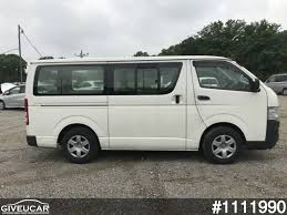 hiace used toyota hiace van from japan car exporter 1111990 giveucar