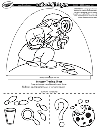Dome Light Designer Mystery Search Coloring Page Crayola Com Mystery Coloring Pages