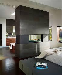 kamine design exklusive doppelseitige kamin design ideen in modernen wohnraum