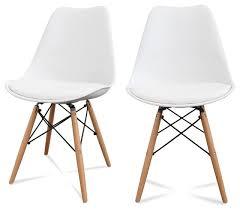 chaise blanche cuisine davaus chaise cuisine scandinave avec des idées