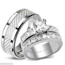wedding bands sets his and hers his and hers wedding ring sets