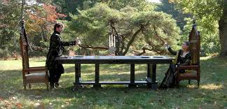 Gothic Dining Room Table by New Wave Gothic Dining Table By Eric M Saperstein Lumberjocks