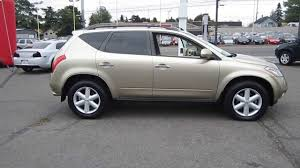 nissan jeep 2005 2005 nissan murano gold stock 11186 youtube
