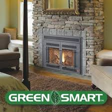 Gas Wood Burning Fireplace Insert by Fireplace Inserts
