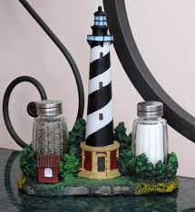 lighthouse home decor amazon com nautical cape hatteras lighthouse glass salt and