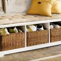 Mudroom Bench Ikea Storage Bench With Baskets Ikea Perplexcitysentinel Com