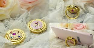asian rabbit ring holder images Sailor moon moon prism finger ring holder for phone sp165212 png
