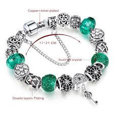 pandora silver link bracelet images 2018 hot sale new silver charm pandora bracelets for women with jpg