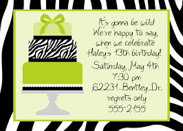 design classic examples of 13th birthday party invitations with