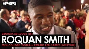 georgia bulldogs lb roquan smith talks winning the sec the rose