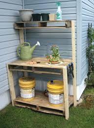 Merry Garden Potting Bench by Retail Price 29900 Sturdy Potting Bench With Recessed Storage