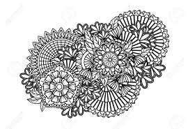 zentangle pattern royalty free cliparts vectors and stock