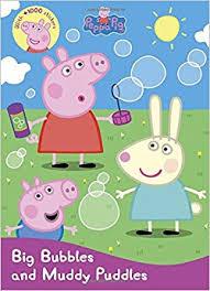 peppa pig big bubbles muddy puddles sticker treasury