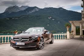2018 mercedes benz e class cabriolet review gtspirit