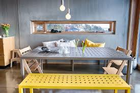 decorating trends 2017 industrial dining room