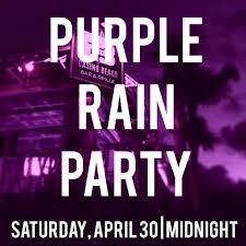 purple rain party