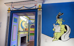 the world s first dr seuss museum will make all your childhood seuss museum room