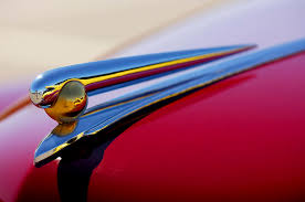 1941 lincoln continental ornament 2 photograph by reger
