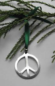 large peace symbol peace sign ornament