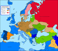 Cold War Map Of Europe by Europe Map Alps Mountains Europe Map Carpathian Mountains Map