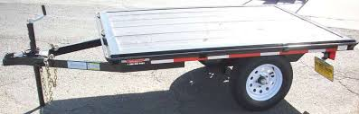 Utility Bed Trailer Single Axle Utility Trailers Pac West Trailers