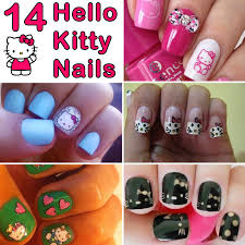 14 hello kitty nails and nail art that are simply too adorable