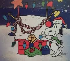 snoopy cards hallmark peanuts snoopy christmas cards his decorated dog house