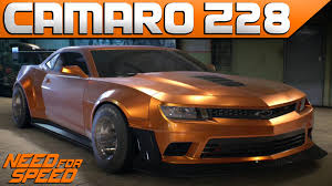 customize a camaro need for speed 2015 wide camaro z28 customization