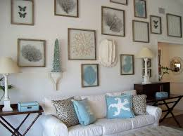 beach house decorating ideas in one room with white and blue