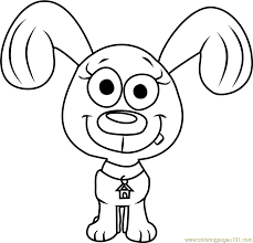pound puppies rebound coloring free pound puppies coloring