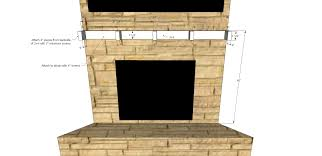 Fireplace Mantel Shelves Designs by Diy Fireplace Mantel Shelf Her Tool Belt