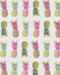 Pineapple Decorations For Kitchen by Pineapple Print Tropical Poster Fruit Kitchen Pattern Grey